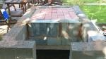 Solid brick base