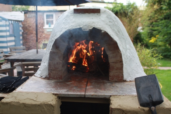 how to build a wood fired oven cheap