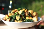 Tuscan Kale and Maris Piper Hash