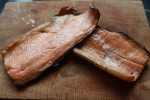 Juniper Cured Hot Smoked Rainbow Trout