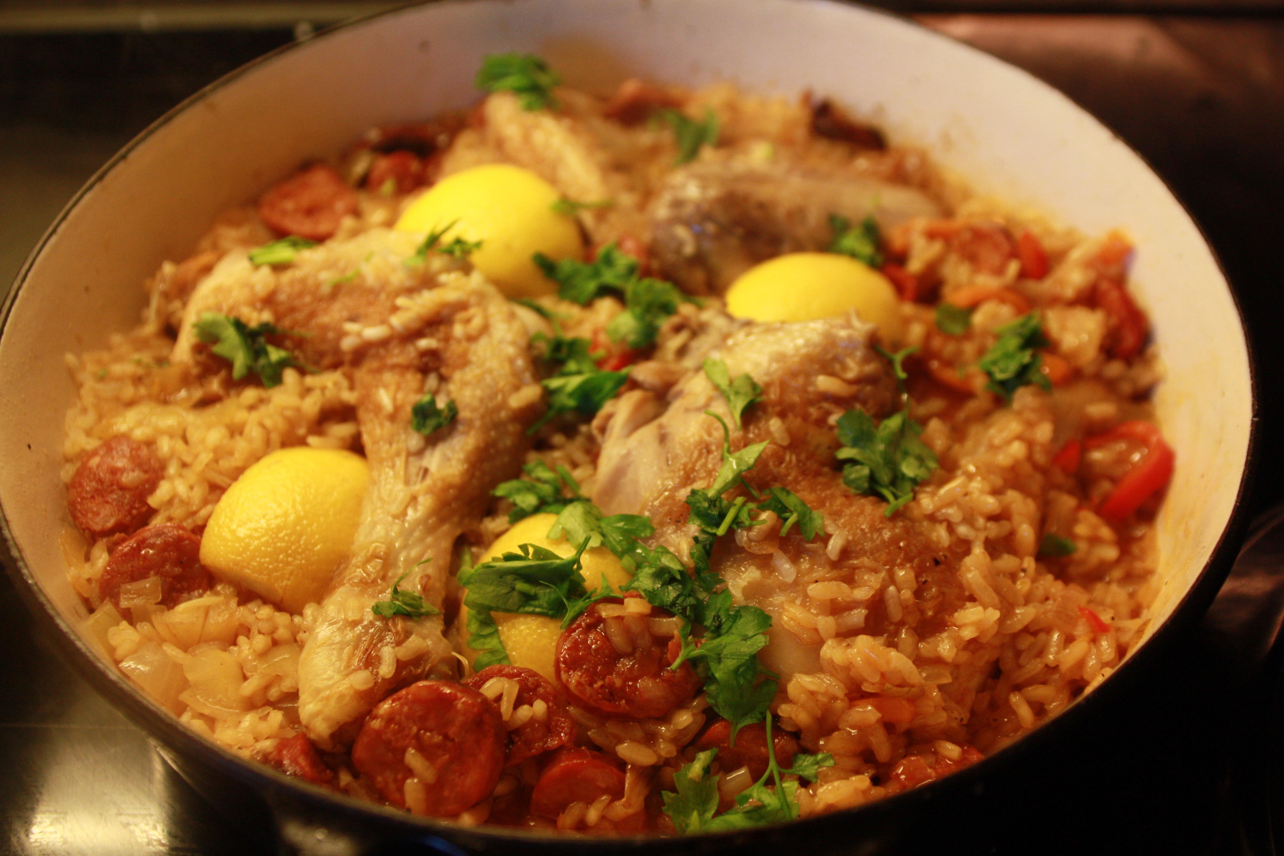 Arroz Con Pollo Recipe Arroz con pollo recipe.
