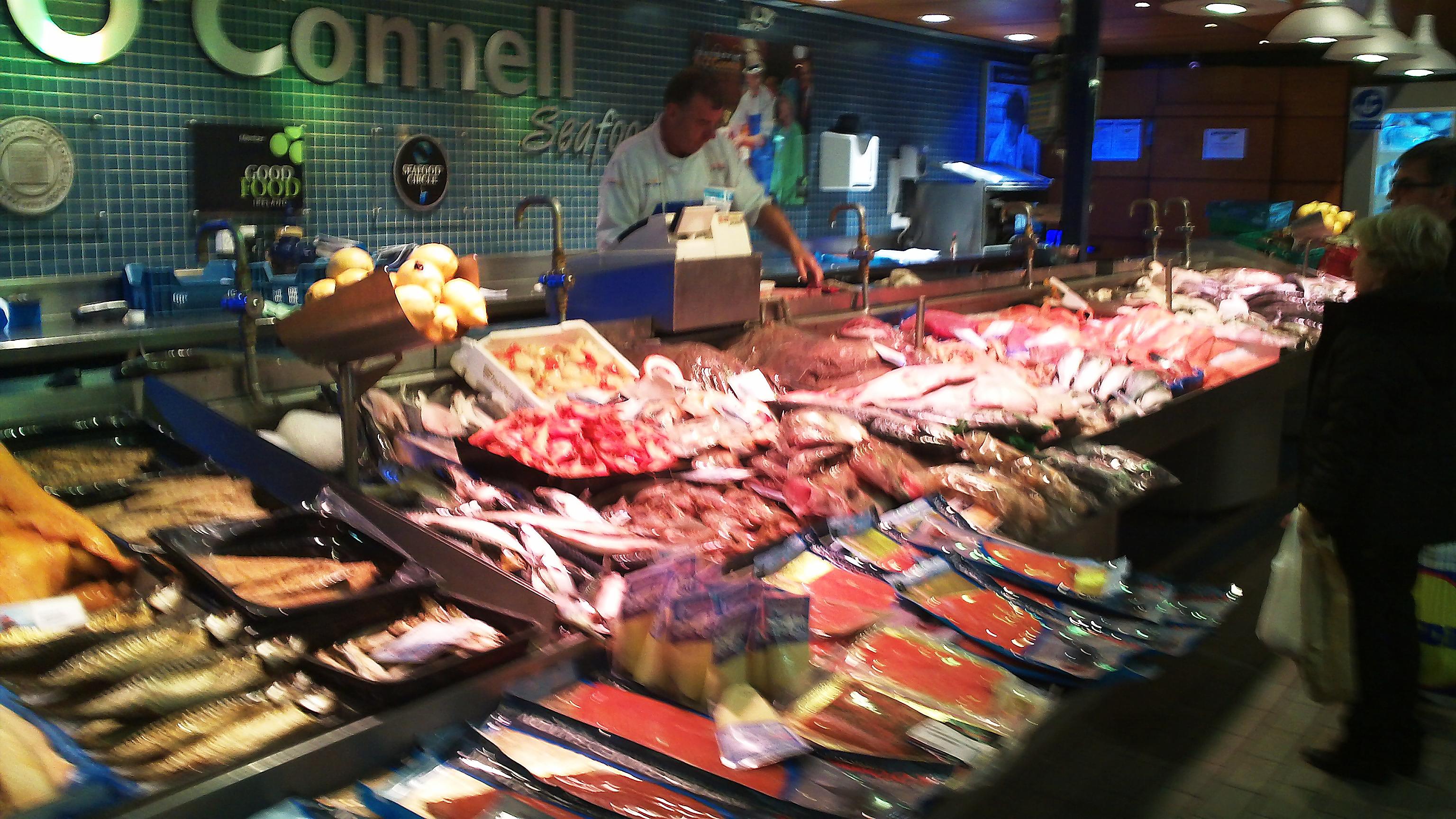 Fab irish foodie holiday countrywoodsmoke uk bbq for Franks fish market