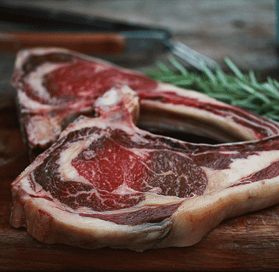 how to cut cote de boeuf