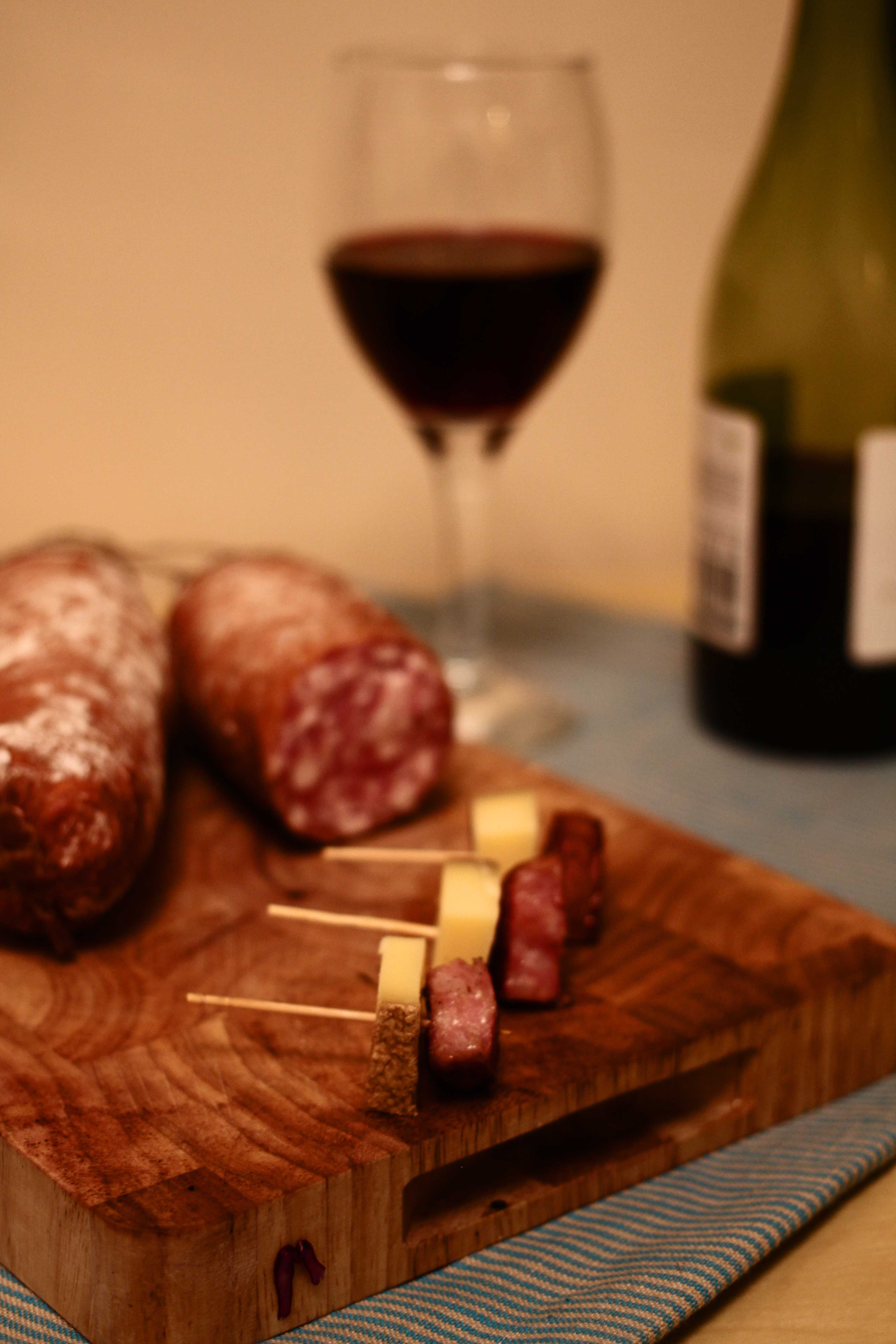 morteau smoked sausage and comt cheese. Black Bedroom Furniture Sets. Home Design Ideas